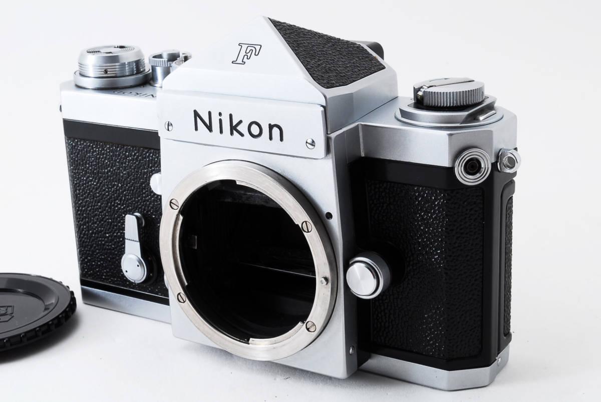 ~メカニカルニコンの名機~Nikon ニコン F アイレベル シルバー 前期モデル