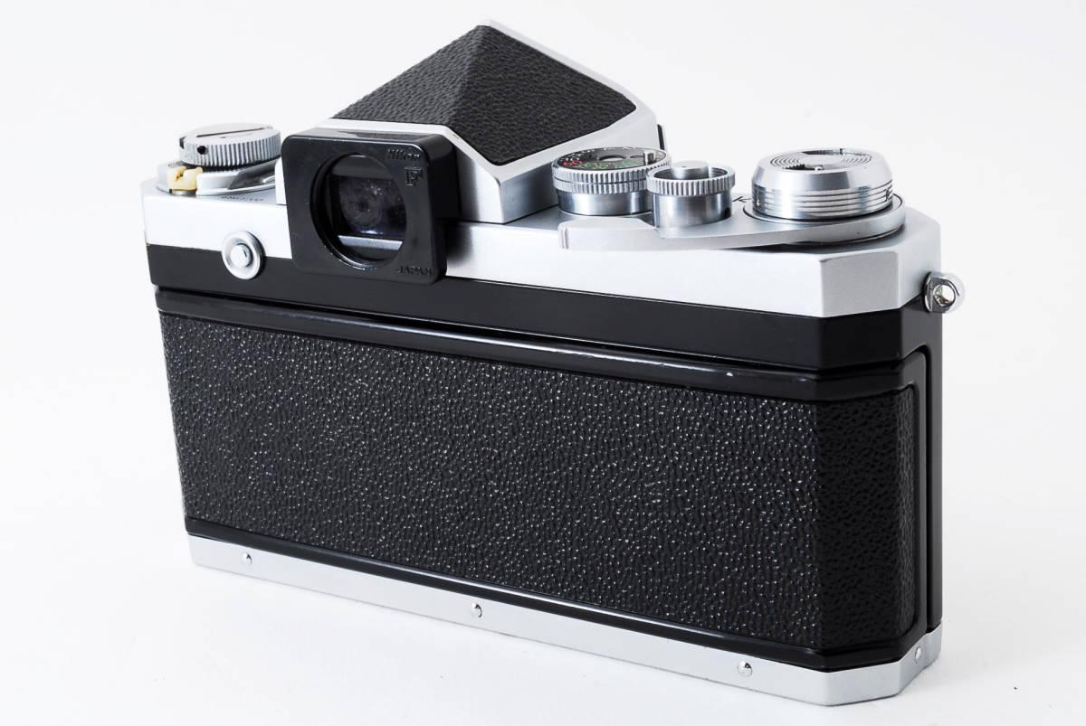 ~メカニカルニコンの名機~Nikon ニコン F アイレベル シルバー 前期モデル_画像4