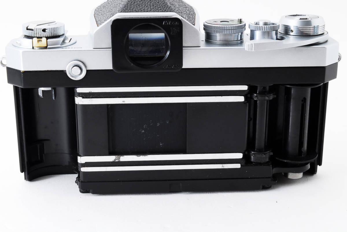 ~メカニカルニコンの名機~Nikon ニコン F アイレベル シルバー 前期モデル_画像7
