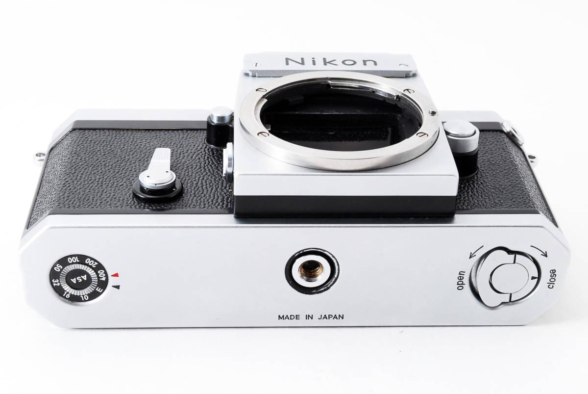 ~メカニカルニコンの名機~Nikon ニコン F アイレベル シルバー 前期モデル_画像10