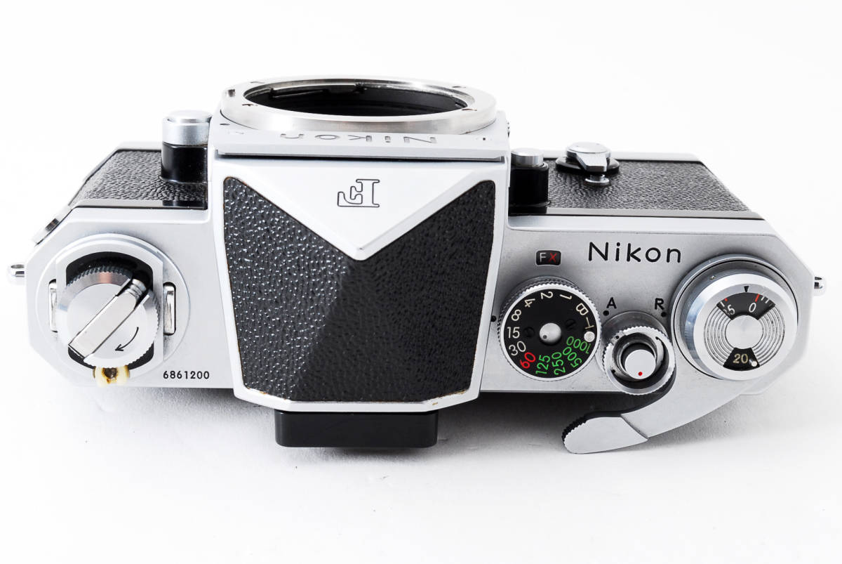 ~メカニカルニコンの名機~Nikon ニコン F アイレベル シルバー 前期モデル_画像8