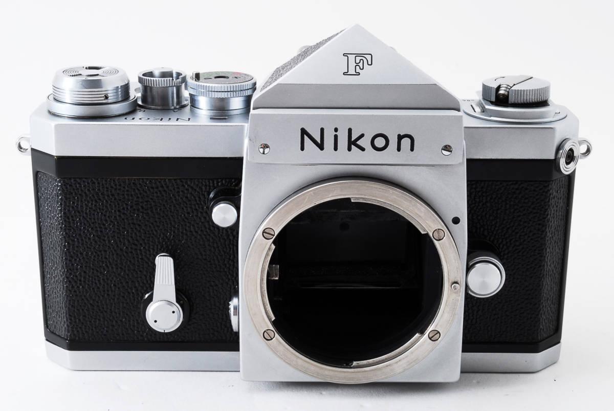 ~メカニカルニコンの名機~Nikon ニコン F アイレベル シルバー 前期モデル_画像2