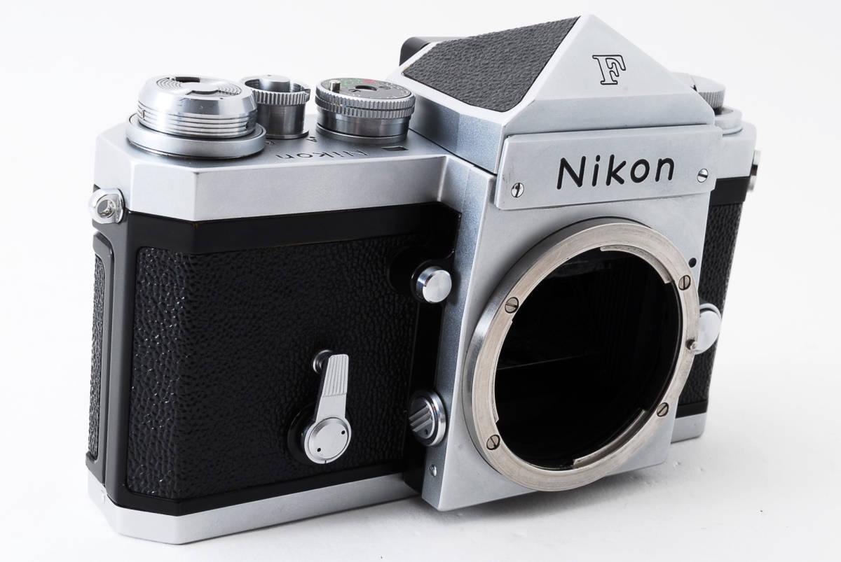 ~メカニカルニコンの名機~Nikon ニコン F アイレベル シルバー 前期モデル_画像3
