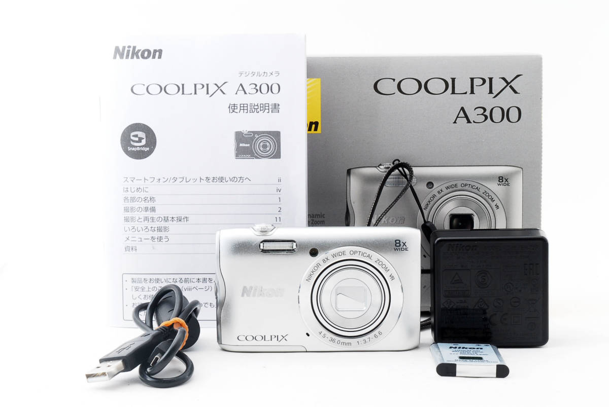 ★超極上級★ ニコン Nikon COOLPIX A300 ★元箱・付属★ #1293