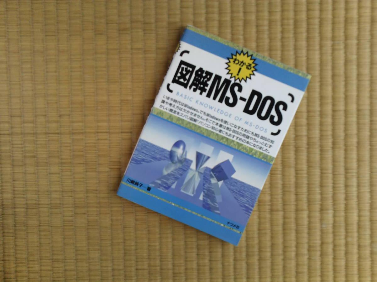 図解MS-DOS わかる! 川崎純子/著 HP200LX 必携の書_画像1