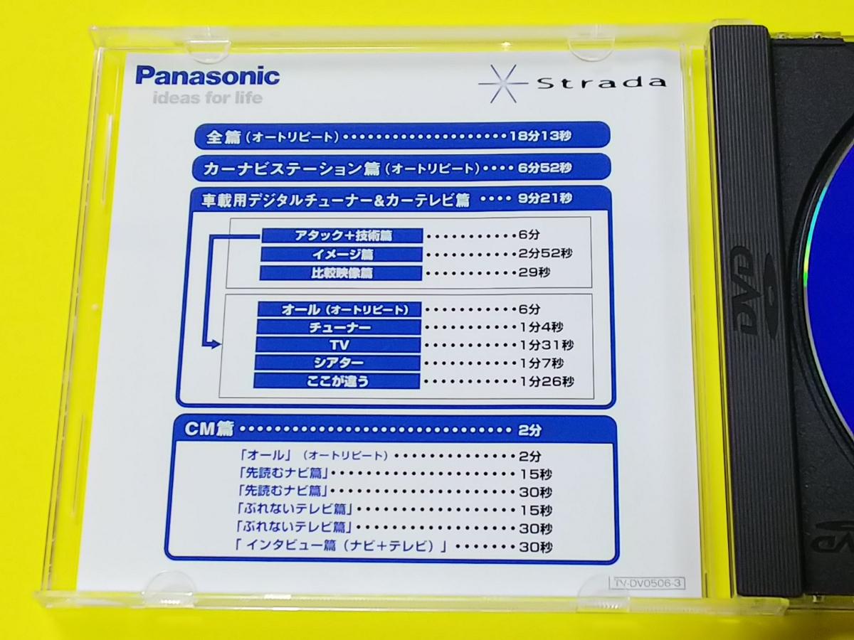 宮本恒靖 パナソニック Strada 2005 CM デモンストレーション DVD 非売品 中古 Panasonic ストラーダ_画像2