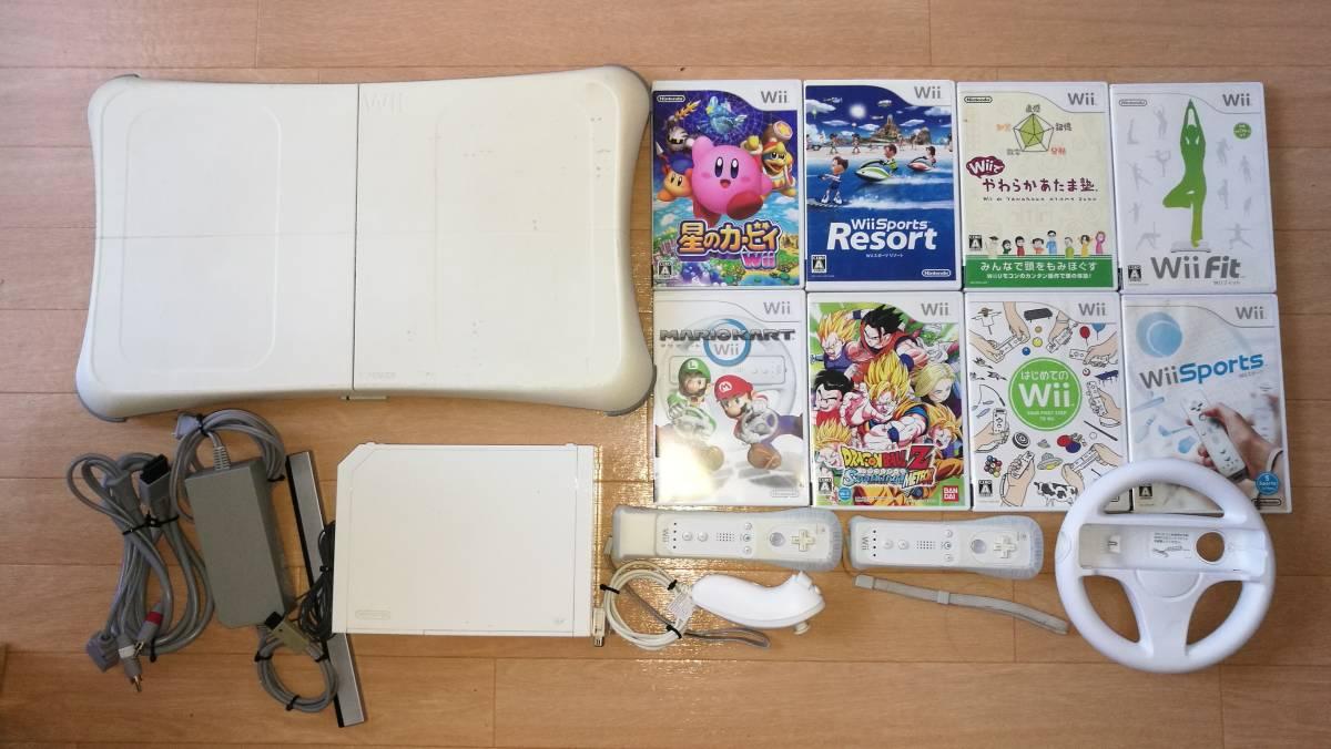 Nintendo wii 本体 ソフトいろいろ