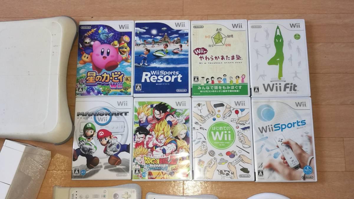 Nintendo wii 本体 ソフトいろいろ_画像3