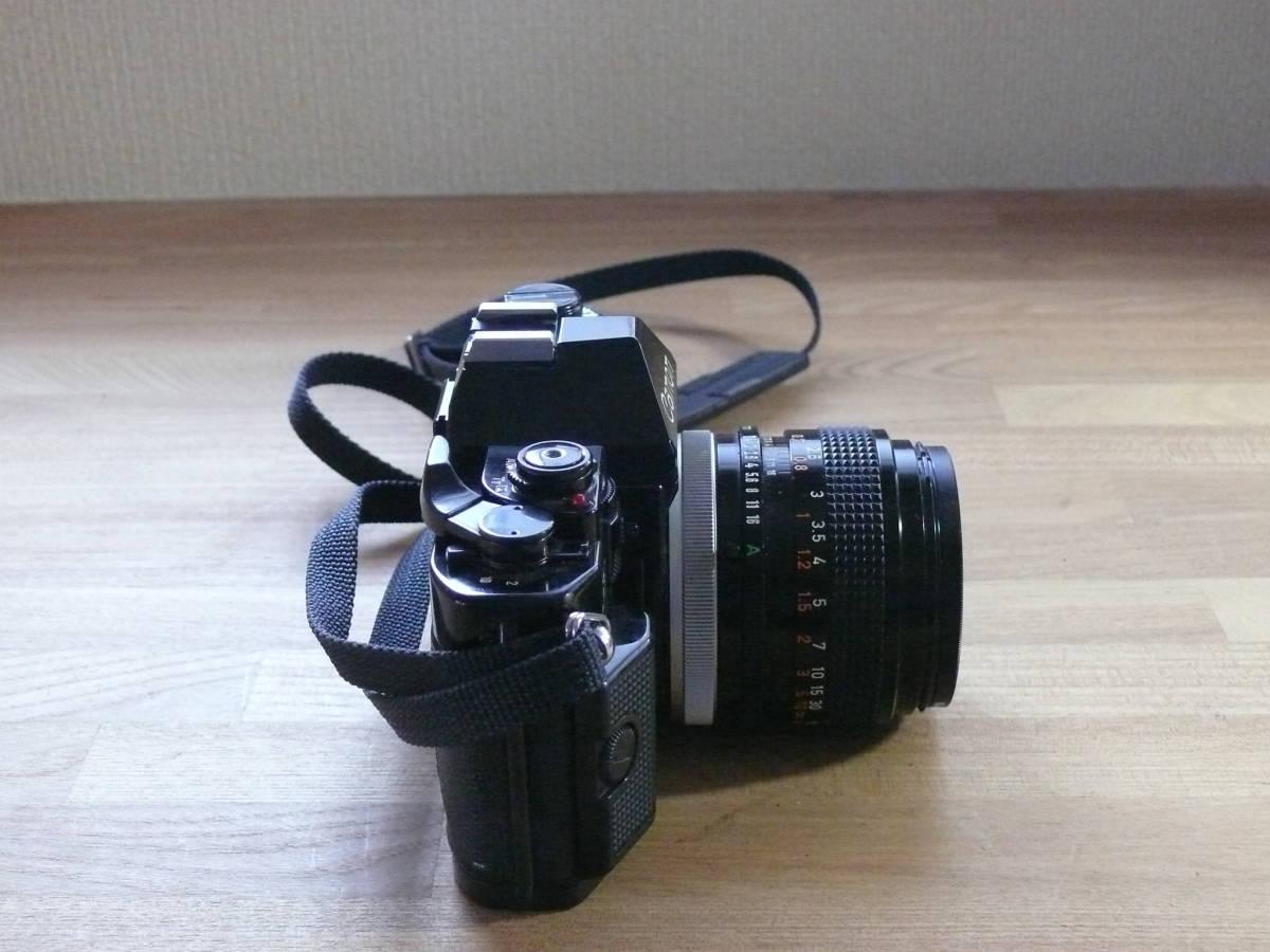 Canon A-1 一眼レフカメラ_画像2