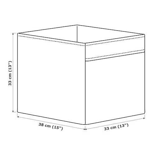 ☆ IKEA イケア ☆ DRONA ボックス, ホワイト<33x38x33 cm>2h_画像5