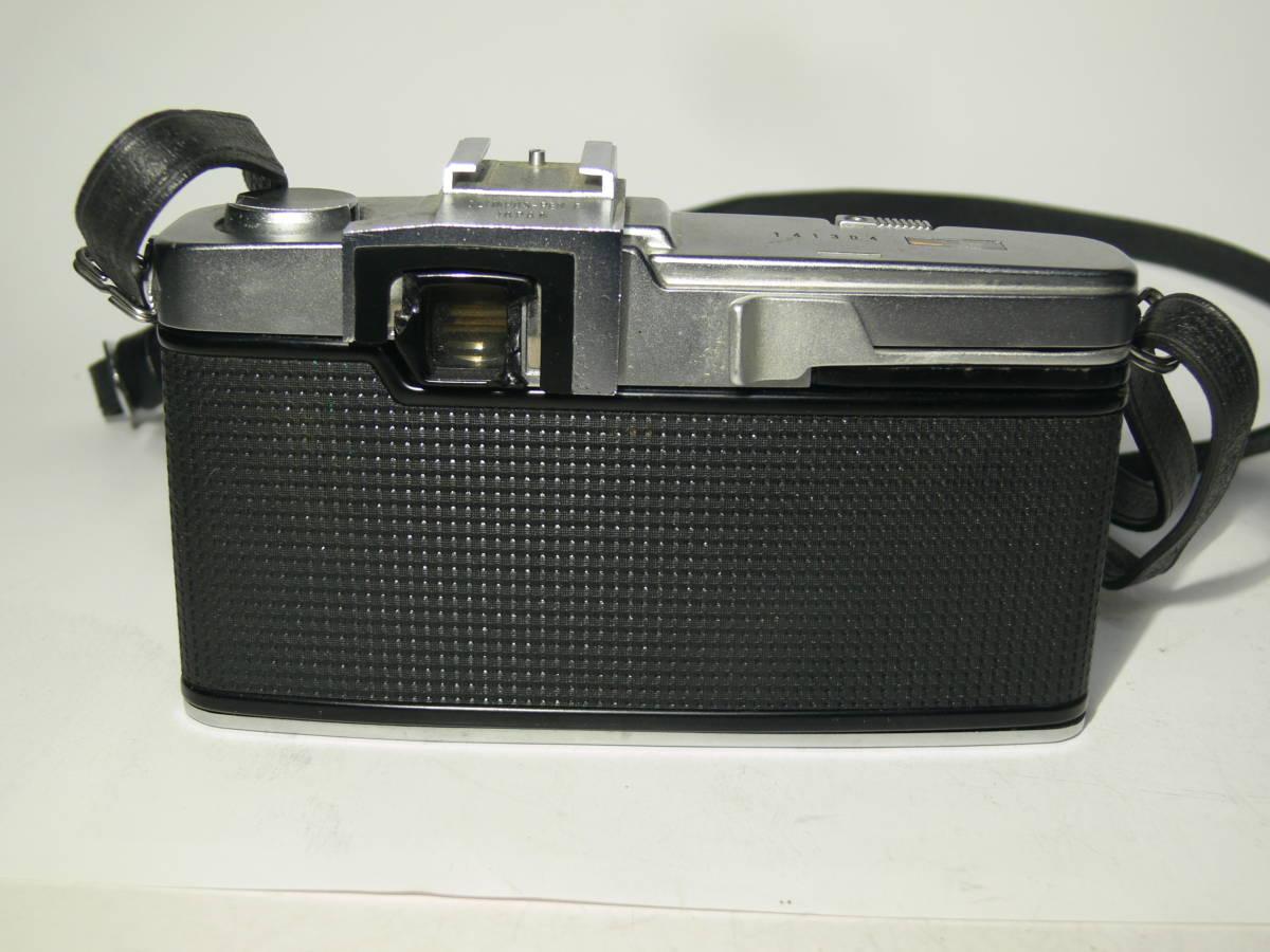 オリンパスペンFT【Gズイコー1:1.4 f=40mm付き】純正フード・革ケースキャップ付き レンズはきれい_画像4