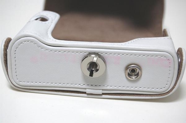 及時決定! ! PENTAX Q7 / Q10專用相機包(帶前置)O  -  CC 133白色 編號:o264044419