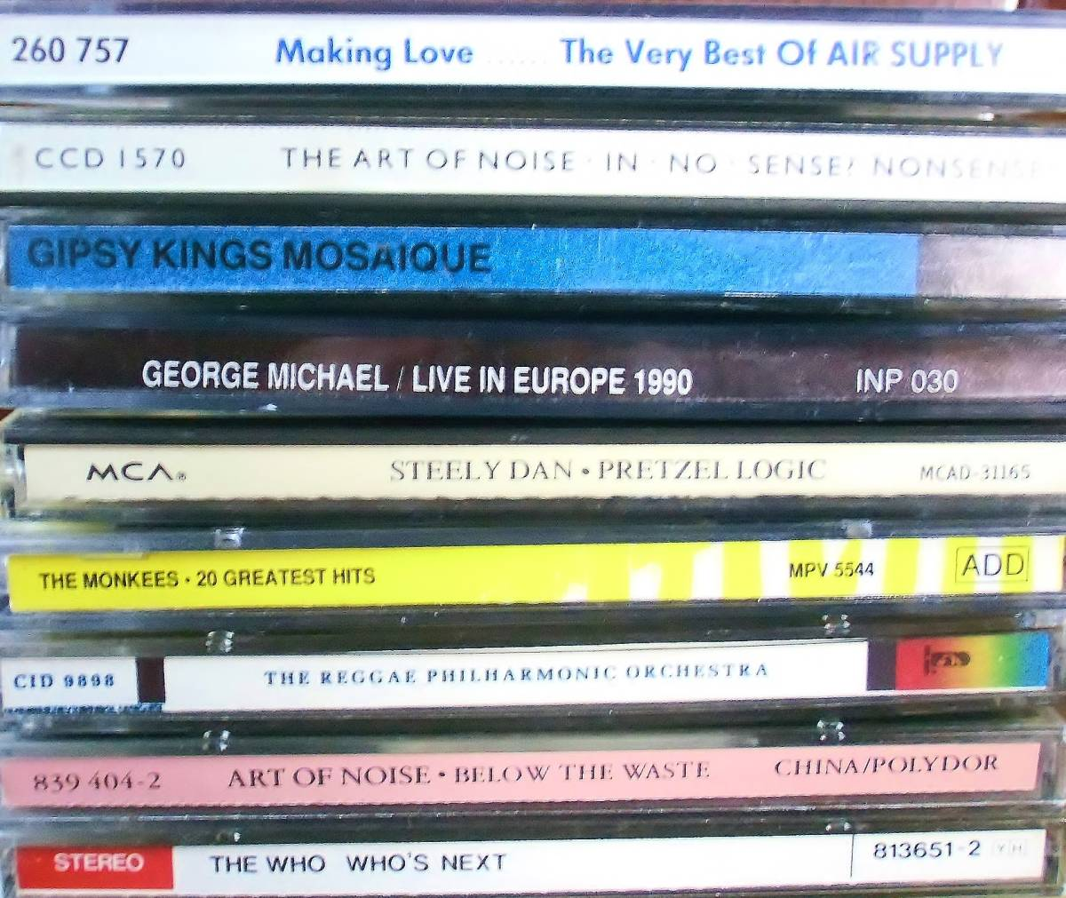 70s 80s Rock、Pops中心 CD109枚 セット タイトル詳細有 大量 AORなど_画像4