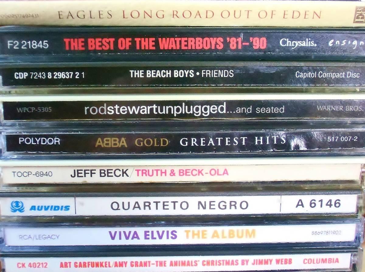 70s 80s Rock、Pops中心 CD109枚 セット タイトル詳細有 大量 AORなど_画像3