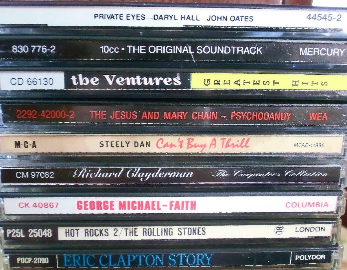 70s 80s Rock、Pops中心 CD109枚 セット タイトル詳細有 大量 AORなど_画像2