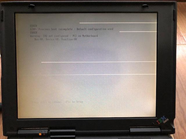 中古ThinkPad 240Z 2609-71J ジャンク品 部品取り_画像4