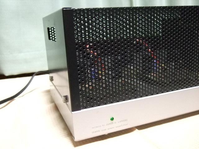♪♪ 自作 (他作) JBL SE400S タイプ ステレオパワーアンプ ジャンク ♪♪_画像2