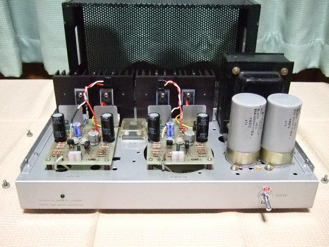 ♪♪ 自作 (他作) JBL SE400S タイプ ステレオパワーアンプ ジャンク ♪♪_画像7