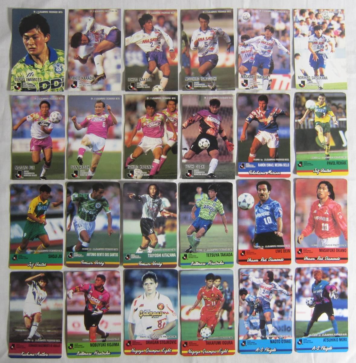 ★CALBEE カルビー Jリーグ カード 1993~1998 まとめて702枚_画像10