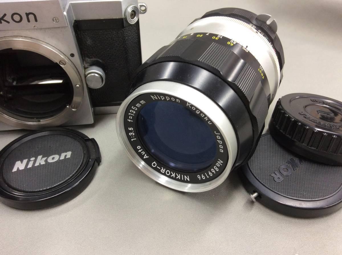 ★Nikon F レンズ2本 アクセサリーセット 中古カメラ★_画像4