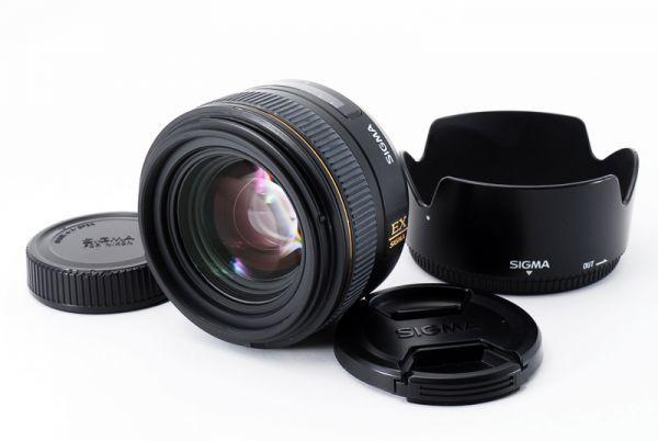 ★極美品★ SIGMA シグマ 30mm F1.4EX DC HSM ニコン Nikon用 フード付き♪ @3117