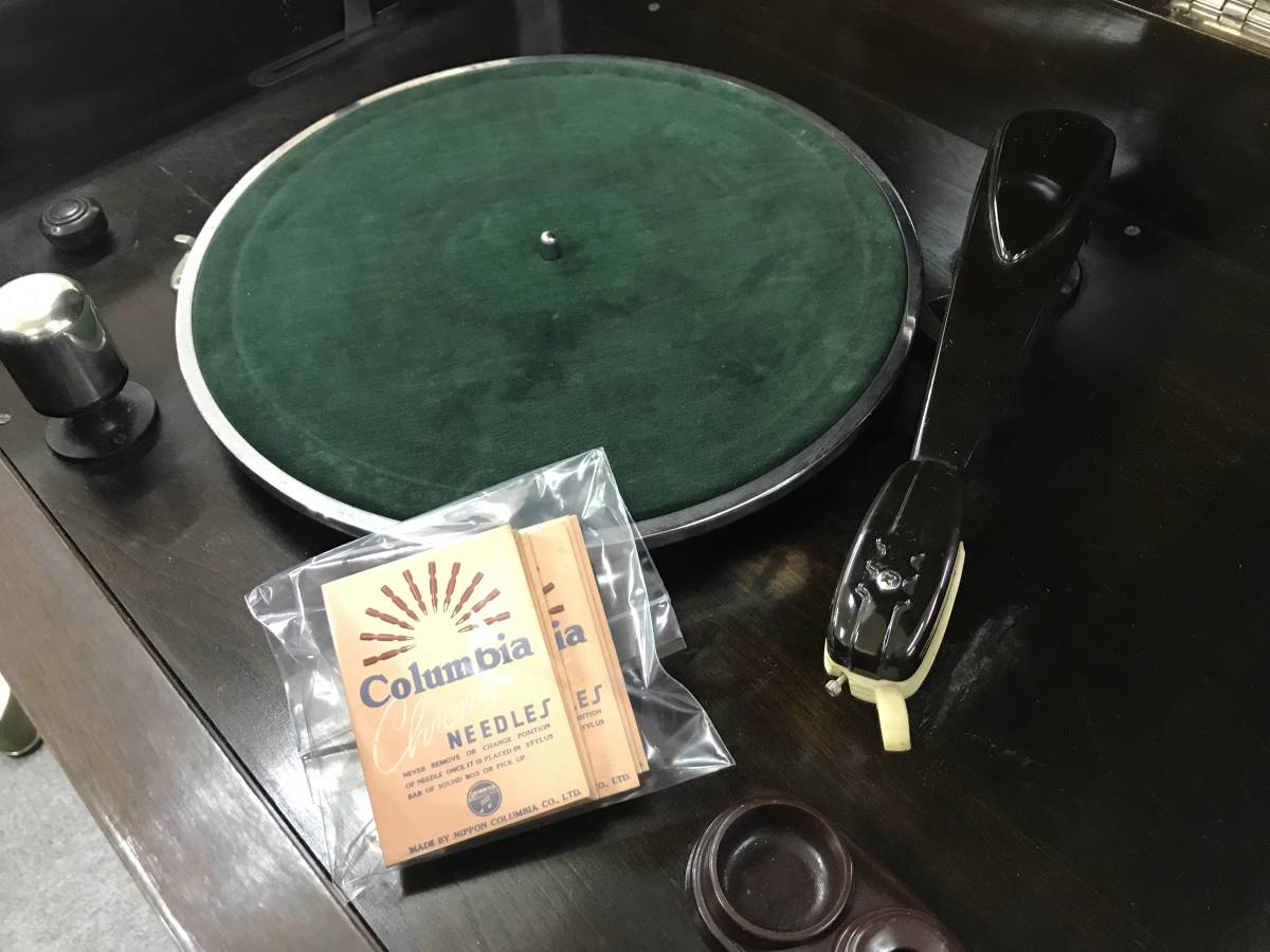 No.671 アンティーク☆ ラジオ レコードプレーヤー 真空管ラジオ ジャンク品 骨董品_画像5
