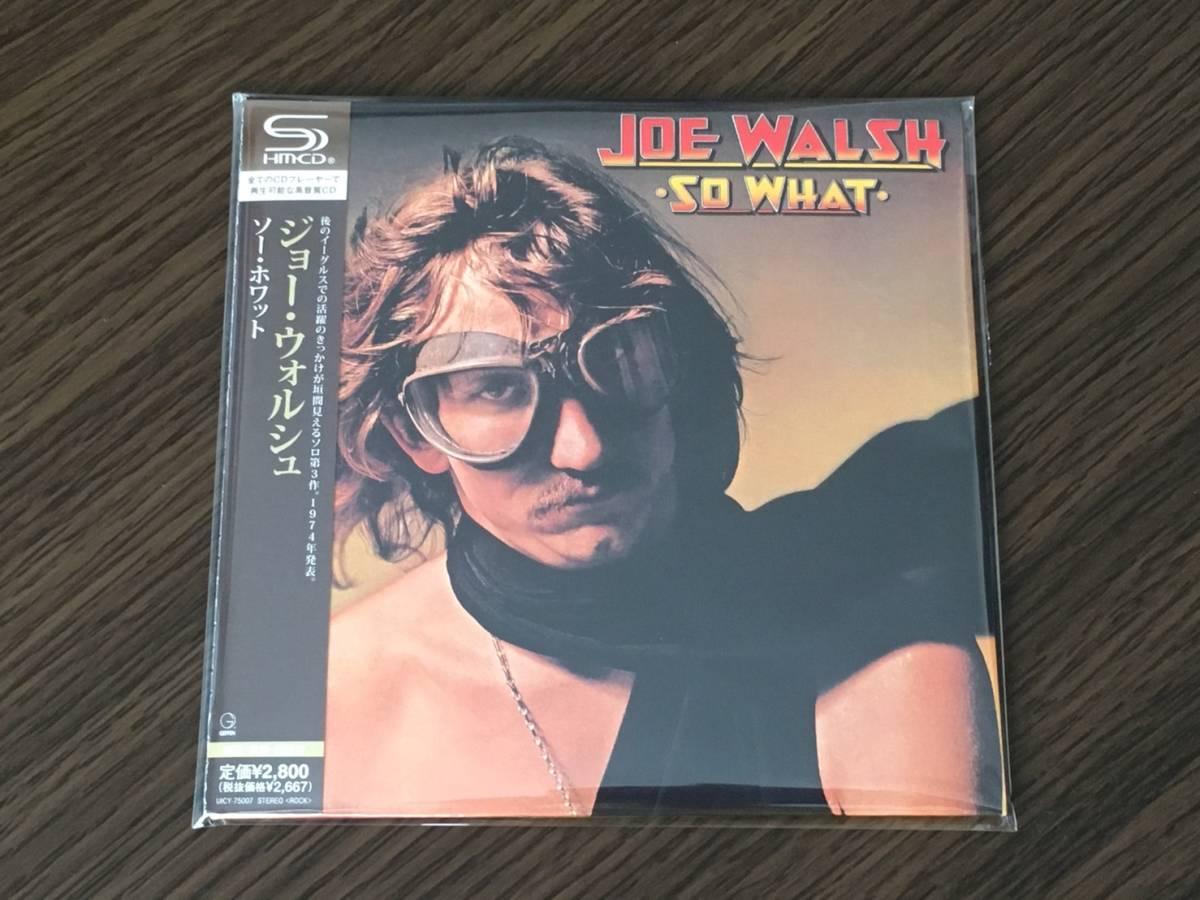 Joe Walsh So What Musik