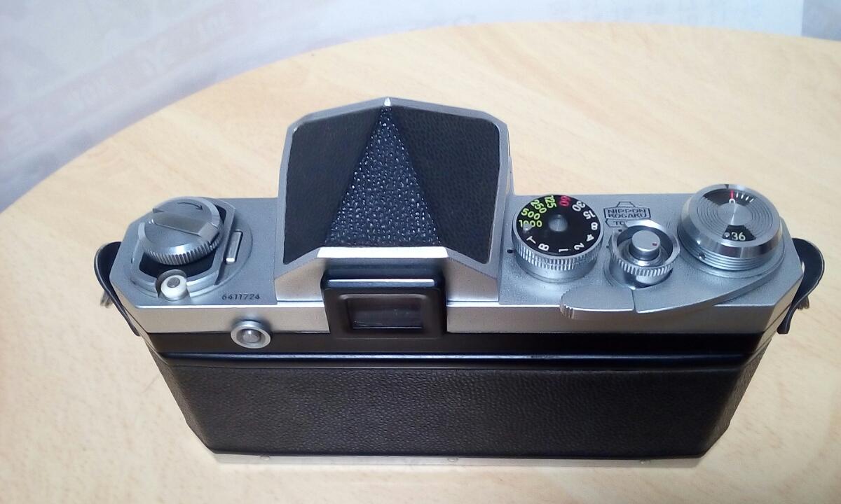 Nikon F 640Fに近い6411xxxです 外観は綺麗です 難あり ジャンク品扱いで_画像2