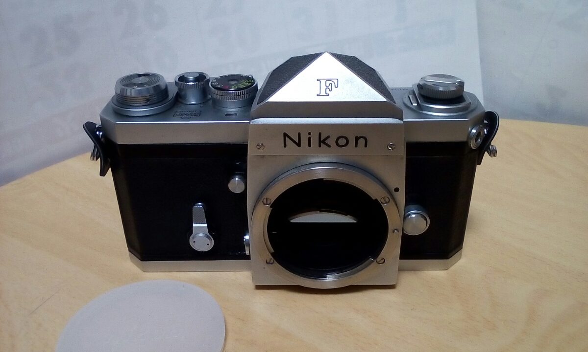 Nikon F 640Fに近い6411xxxです 外観は綺麗です 難あり ジャンク品扱いで