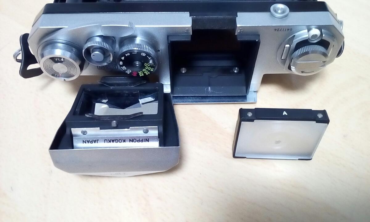Nikon F 640Fに近い6411xxxです 外観は綺麗です 難あり ジャンク品扱いで_画像5