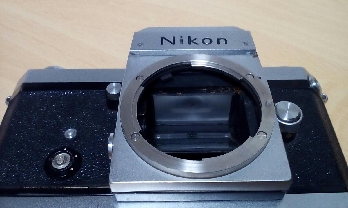 Nikon F 640Fに近い6410xxxです ジャンク扱いで_画像5