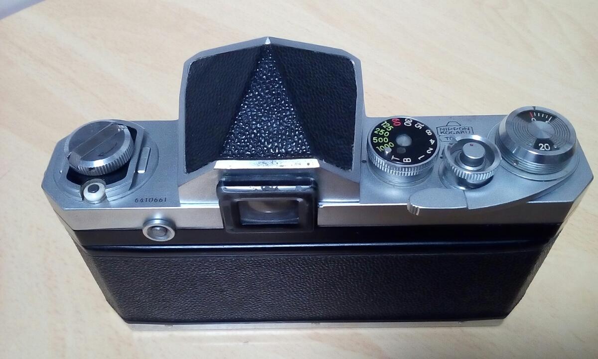 Nikon F 640Fに近い6410xxxです ジャンク扱いで_画像2