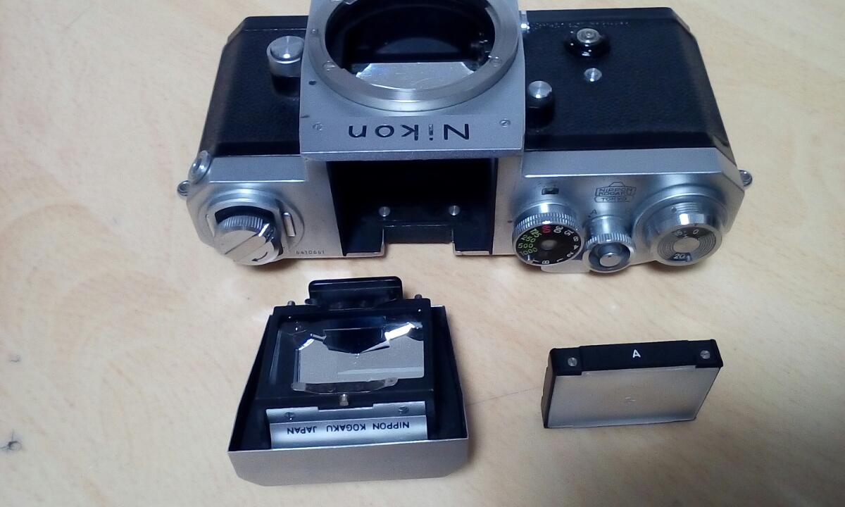 Nikon F 640Fに近い6410xxxです ジャンク扱いで_画像4