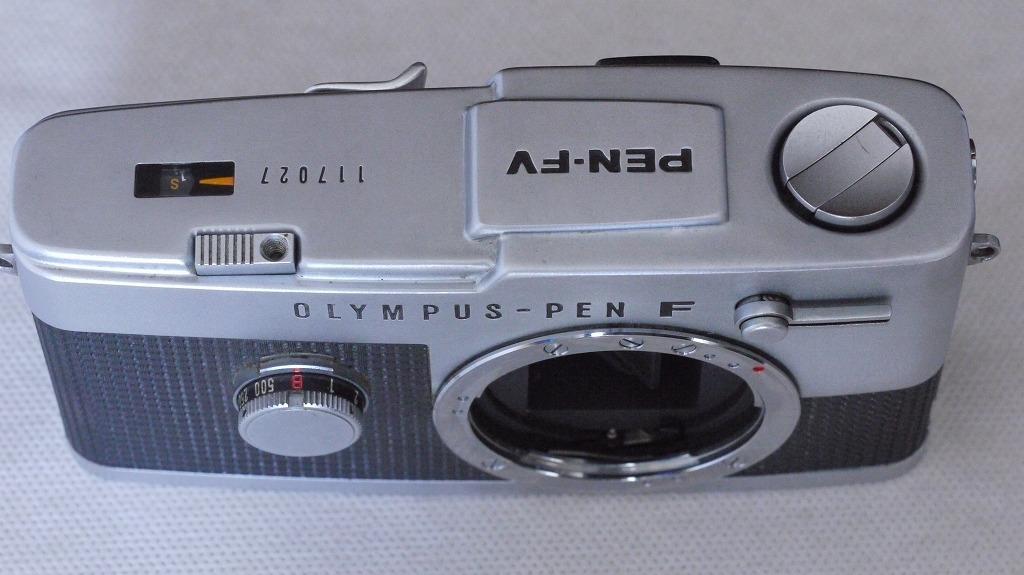 Olympus Pen FV オリンパス ペンFV ハーフサイズ一眼レフ 38ミリ F1.8 レンズ、外付け露出計付き_画像7