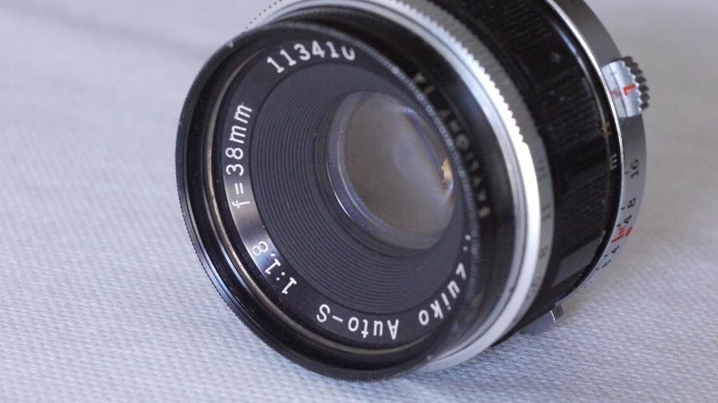 Olympus Pen FV オリンパス ペンFV ハーフサイズ一眼レフ 38ミリ F1.8 レンズ、外付け露出計付き_画像8