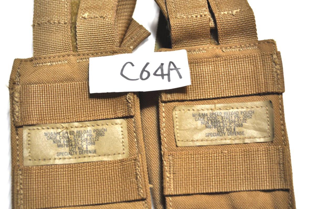 米軍放出品 USMC 米海兵隊 M16/M4 コヨーテブラウン High Speed Reload スピードリロード マガジンポーチ セット FILBE MARSOC MEU_画像3