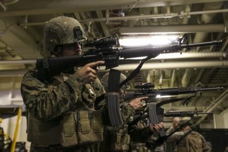 米軍放出品 USMC 米海兵隊 M16/M4 コヨーテブラウン High Speed Reload スピードリロード マガジンポーチ セット FILBE MARSOC MEU_画像4