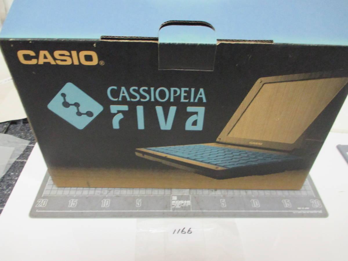 カシオ ノートパソコン CASSIOPEIA FIVAMPC-102M62 長期保管商品        1166