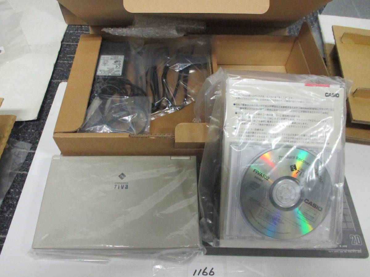 カシオ ノートパソコン CASSIOPEIA FIVAMPC-102M62 長期保管商品        1166_画像2