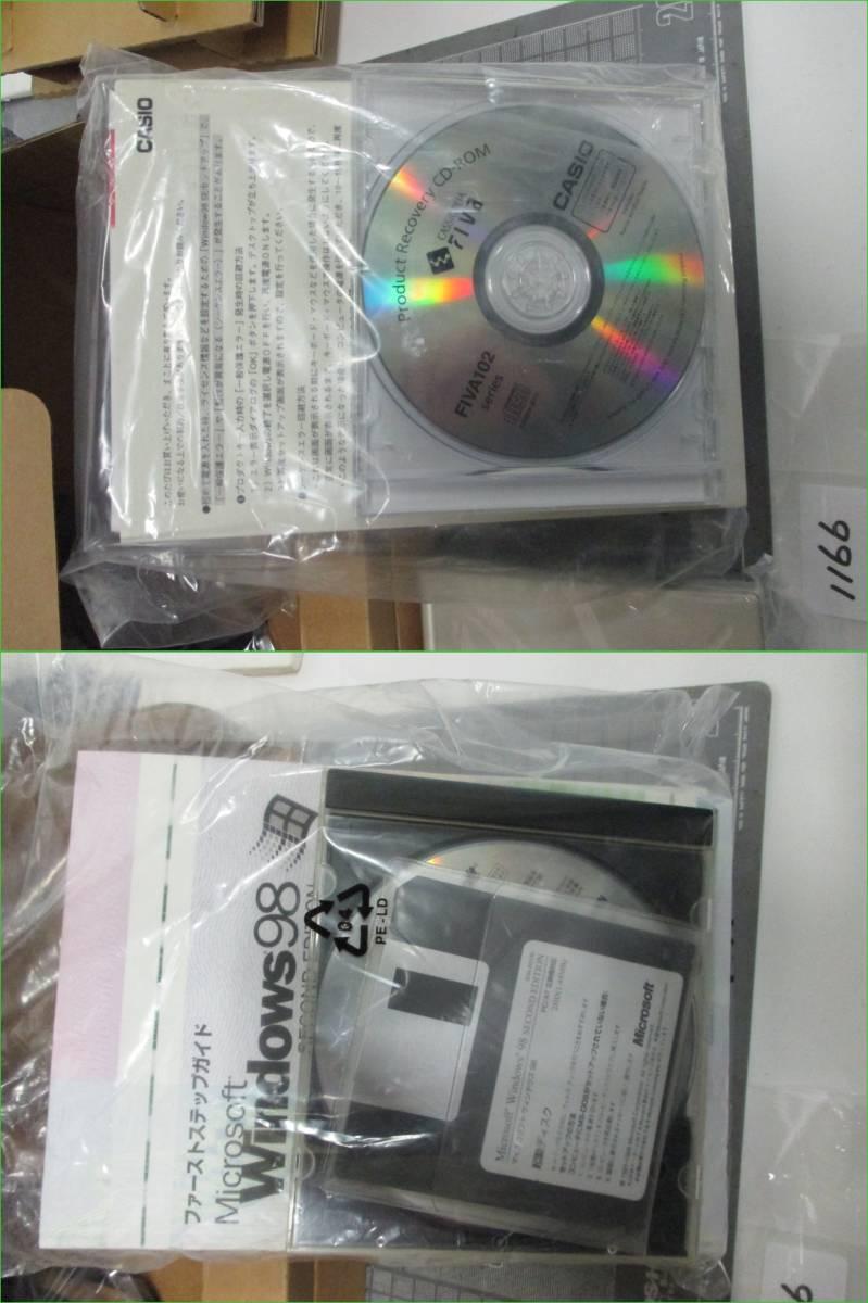 カシオ ノートパソコン CASSIOPEIA FIVAMPC-102M62 長期保管商品        1166_画像4