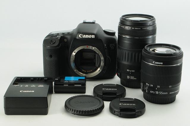 ◆初心者最適◆キヤノン Canon EOS 7D 純正レンズ ダブルズーム #275