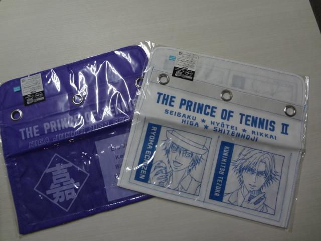 (SEH0122)新テニスの王子様 ウォールポケット アニくじS D-4賞(比嘉)/D-6賞(キャライラスト) 2個セット_画像1