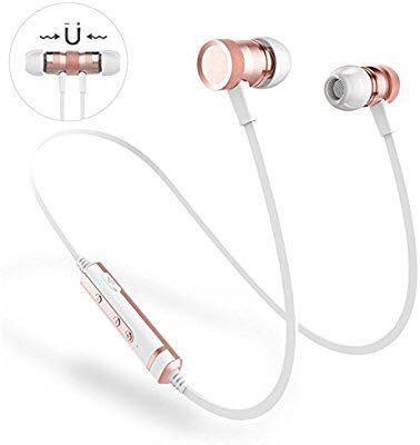 【新品】Bluetoothイヤホン ANCREU ワイヤレス 防水 スポーツイヤホン マイク付き カナル型 高音質 超軽量 Android、iPhone各種対応