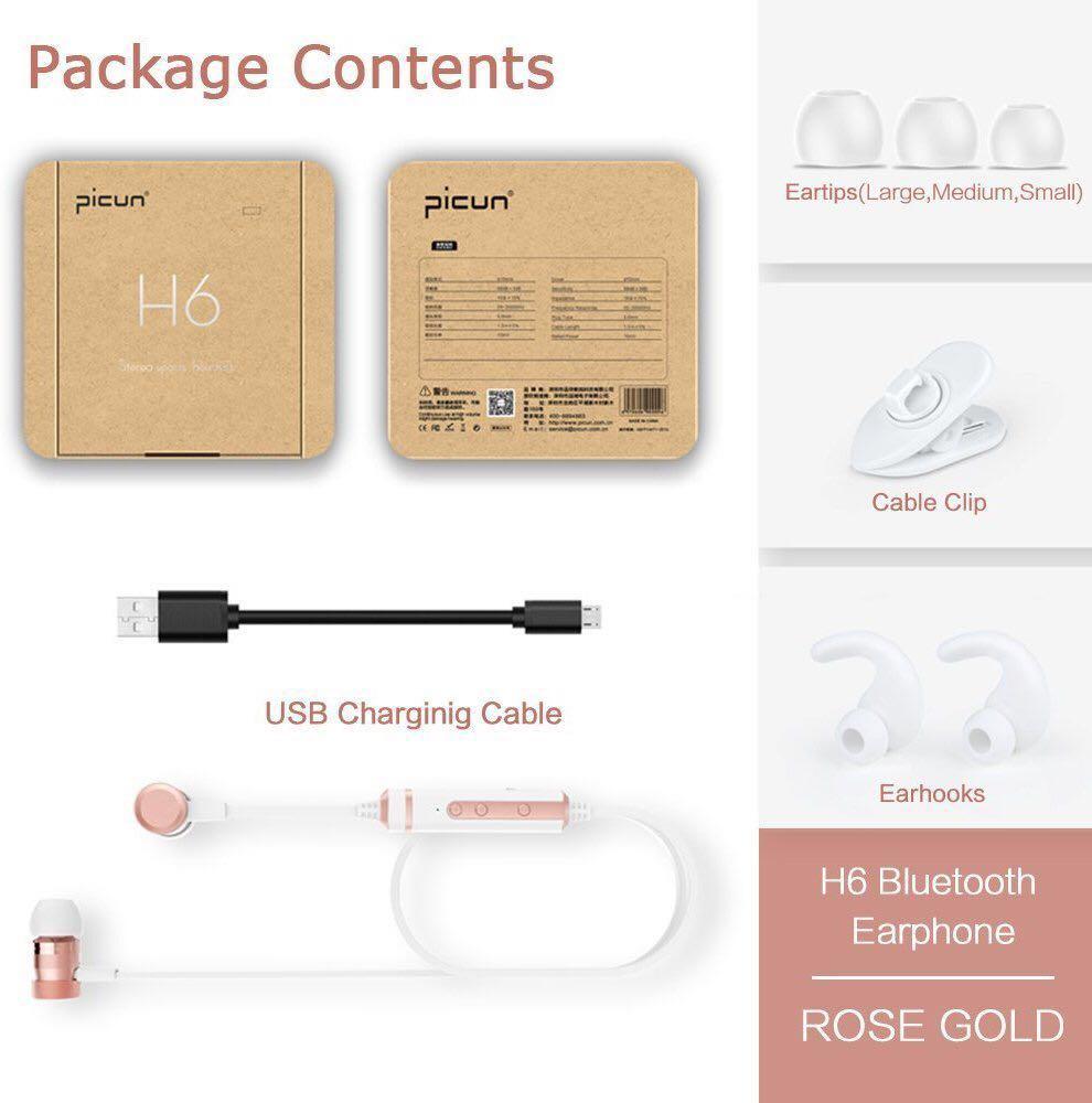 【新品】Bluetoothイヤホン ANCREU ワイヤレス 防水 スポーツイヤホン マイク付き カナル型 高音質 超軽量 Android、iPhone各種対応_画像7