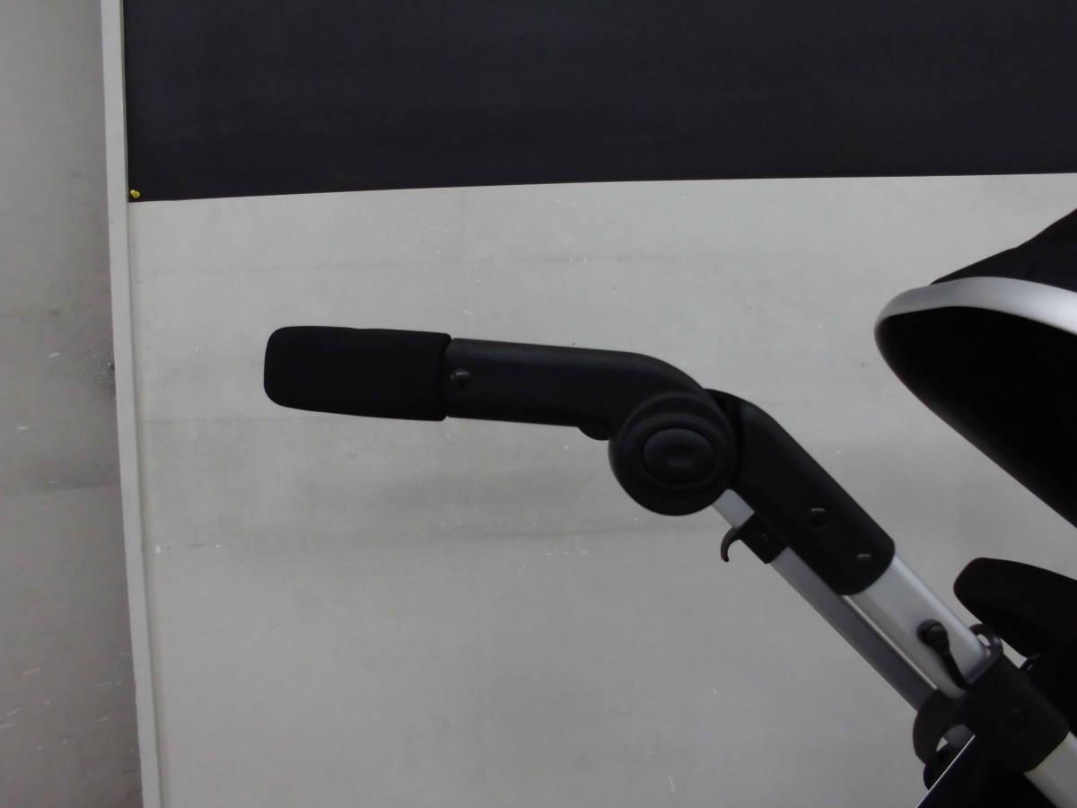◆アウトレット品◆輸入ベビーカー B型 バギー オランダ FirstWeels CityElite ブラック _画像6