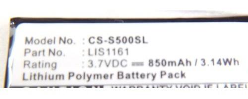 CLIE PEG-S300, CLIE PEG-S320, CLIE PEG-S360, CLIE PEG-S500, CLIE PEG-S500C用電池 新品_画像2