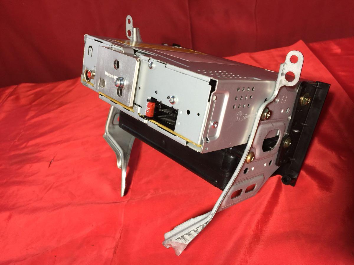 D0261 中古 KENWOOD ケンウッド U373 CDプレイヤー レシーバー オーディオ チューナー 1DIN USB AUX iPod 動作保証_画像7