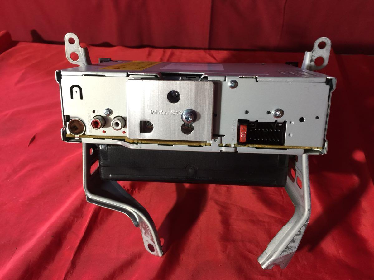 D0261 中古 KENWOOD ケンウッド U373 CDプレイヤー レシーバー オーディオ チューナー 1DIN USB AUX iPod 動作保証_画像5