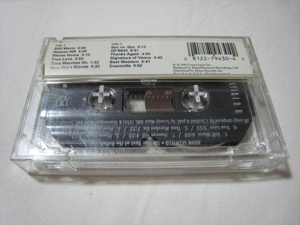 【カセットテープ】 JOHN SCOFIELD / SLO SCO : BEST OF THE BALLADS US版 ジョン・スコフィールド ソロ・スコ (ベスト・オブ・バラード)_画像2