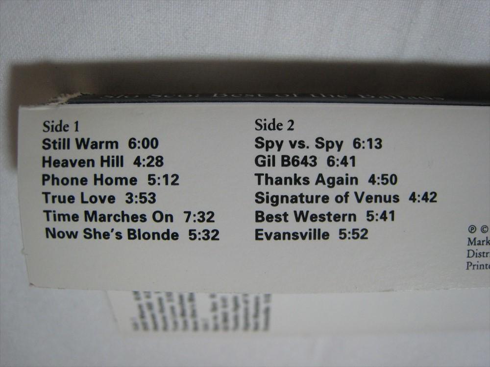 【カセットテープ】 JOHN SCOFIELD / SLO SCO : BEST OF THE BALLADS US版 ジョン・スコフィールド ソロ・スコ (ベスト・オブ・バラード)_画像4